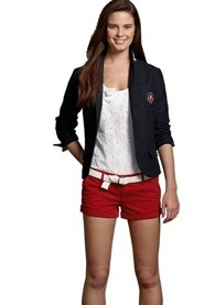 Set sail with a perfectly preppy look