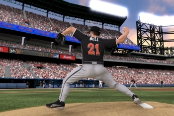 MLB 12: The Show screenshot pitching
