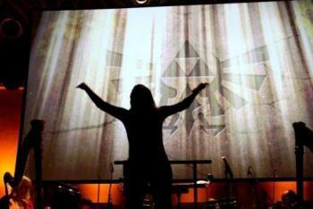 The Legend of Zelda: Symphony of the Goddesses conductor silhouette