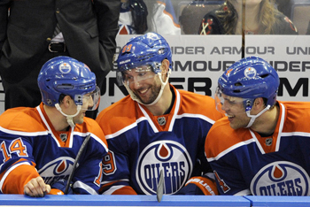 Sam Gagner Laughs about record