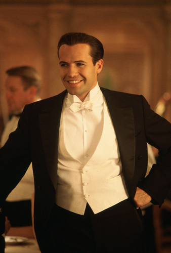 Billy Zane plays Cal Hockley in TITANIC
