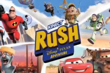 Kinect Rush box art