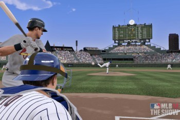 MLB 12: The Show batting screenshot