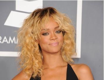 Rihanna's Wild Curls
