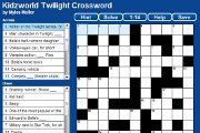 Preview twilight crossword pre