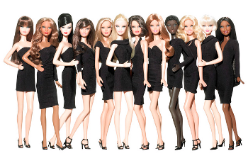 Barbie has been an inspiration for high end designers for years, she's even been honored at New York Fashion Week