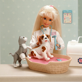 veterinarian Barbie