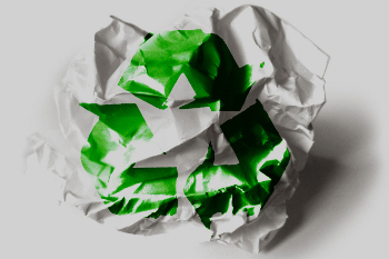 When you start looking, you may see ways to recycle everywhere!