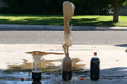 Diet Coke and Mentos Geyser!