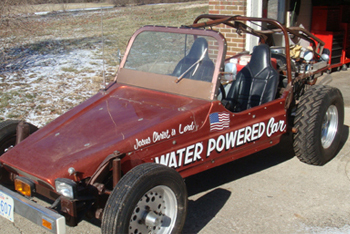 1st Water Powered Car