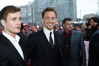 Tom Hiddleston on the red carpet