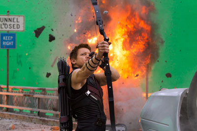 Jermey Renner as Hawkeye