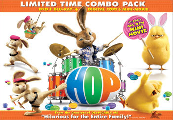Hop on Blu-Ray and DVD