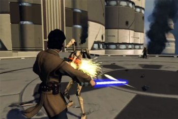 Kinect Star Wars screenshot droid