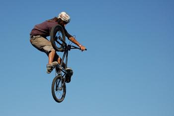 Vert Ramp BMX