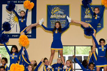 Imagine School Cheerleading Team