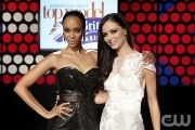 Tyra Banks and Georgina Chapman