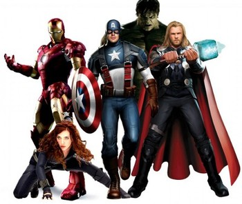 Part of the Avengers team