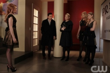 The van de Woodsen's Confront Ivy