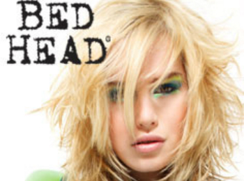 Banish bed head with water and light products