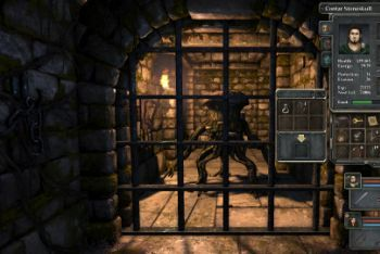 Legend of Grimrock screenshot door