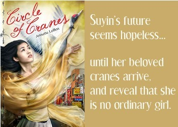 Book Review: Circle of Cranes by Annette Lebox