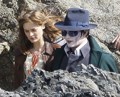 Barnabas strolls with love Victoria (Bella Heathcote)