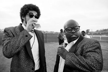 Cee Lo teamed up with Danger Mouse to form Gnarls Barkley