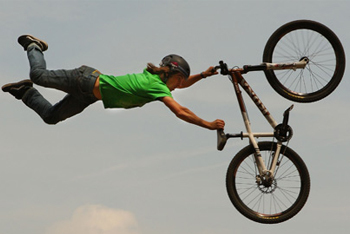 Riding High BMX Style