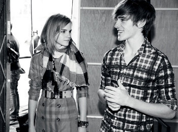 Emma Watson and brother Alex made waves when they signed on as the faces of Burberry