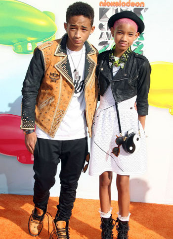 Jaden and Willow both have their own distinct Smith Style