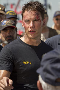 A battle-weary Taylor Kitsch