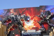 Transformers 3-D ride at Universal