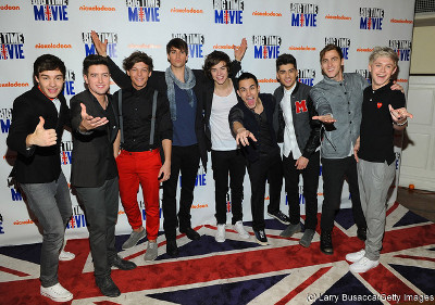 Big Time Rush with One Direction