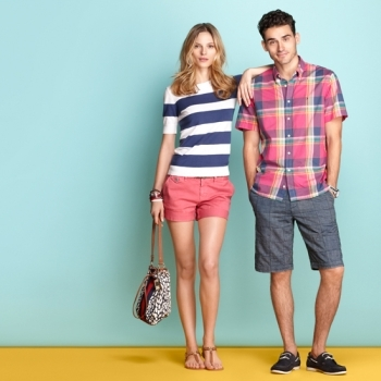 Preppy stripes and spring colors: the perfect combination!