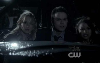 Cassie, Adam and Melissa follow zombie Nick as he hands the crystal to Eben