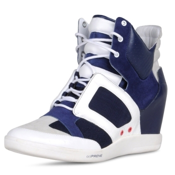 Don't play basketball in these high-heeled high tops!