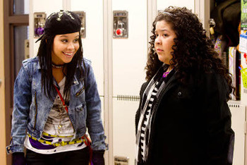 Cierra and Raini in Girl in Progress