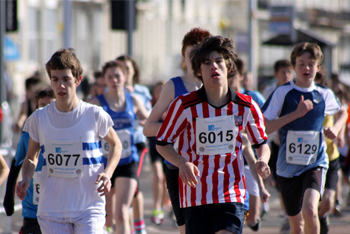 Marathon for teenagers