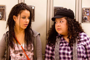 Cierra as Ansiedad and Raini as Tavita