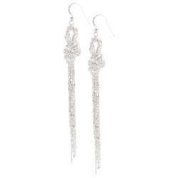 Knotted Chain Earrings