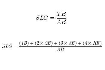 SLG = TB / AB