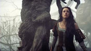 Snow White in the dark forest