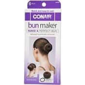 Twirl an easy bun with the Bunmaker