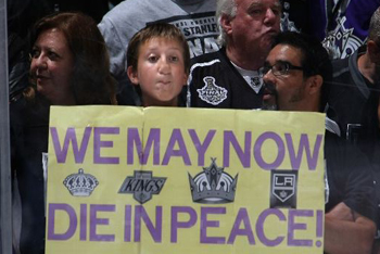Kings Fan Relief