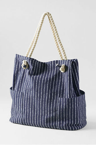 Nautical Canvas Tote