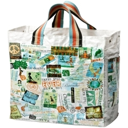 Fun patterned tote