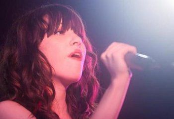 Carly Rae Jepsen singing