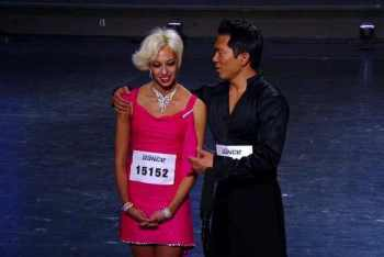 Johnny Ahn and his partner Whitney