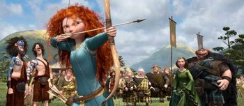 """Brave"": Merida and her Scotsmen"